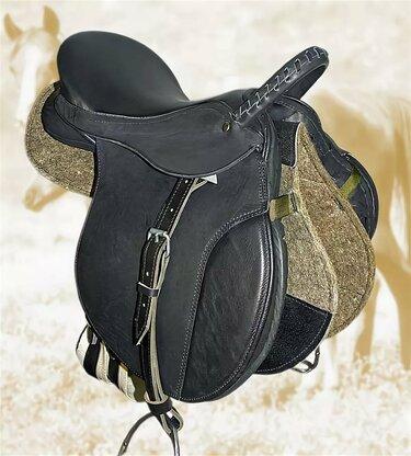 офицерское седло для лошади