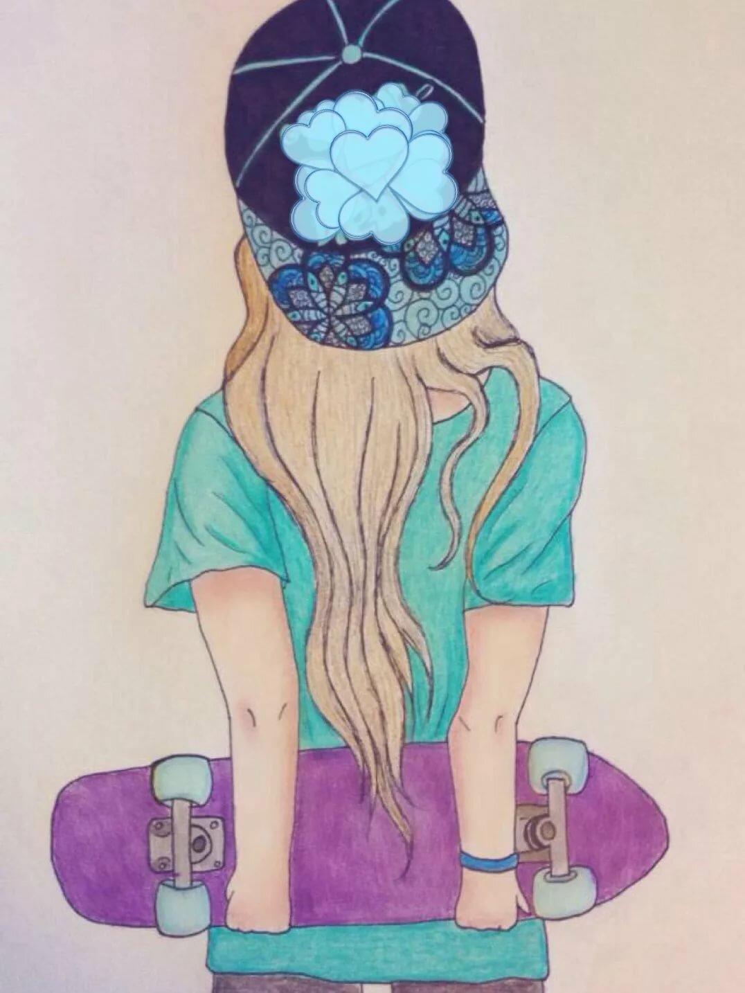 Картинки для срисовки прикольные для девочек 15 лет
