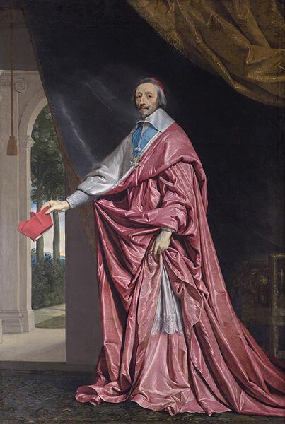 13 августа 1624 года кардинал Ришелье назначен Первым министром Франции