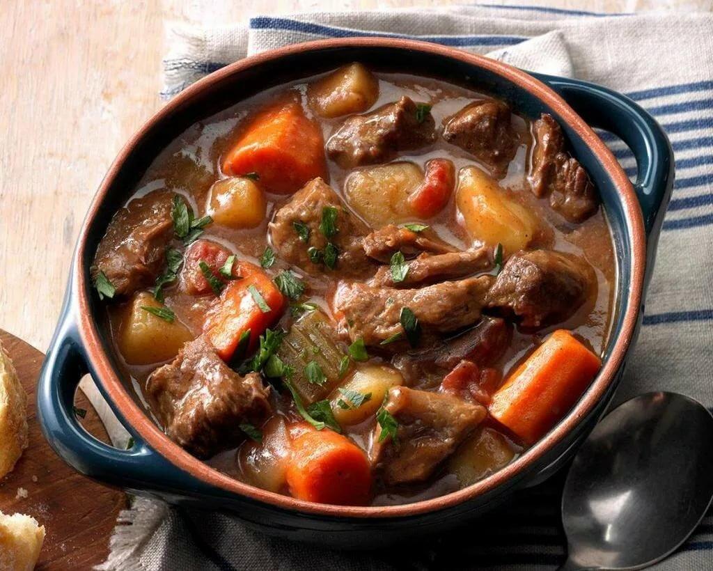 рецепт из говядины на второе с фото часть удлинённого