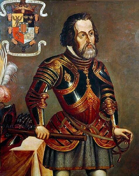 13 августа 1521 года Эрнан Кортес захватил столицу империи ацтеков Теночтитлан