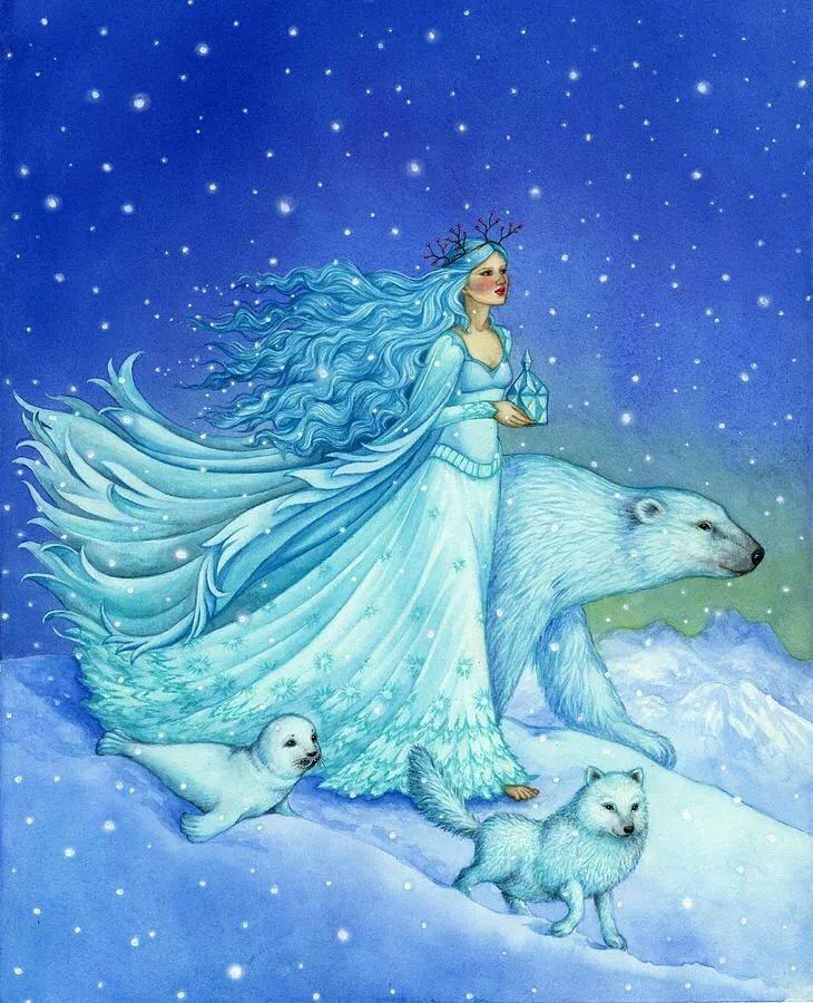 образ зимы в картинках волшебница зима картинки два-три года будет