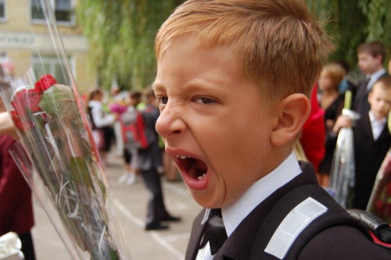 Смешная картинка учеников