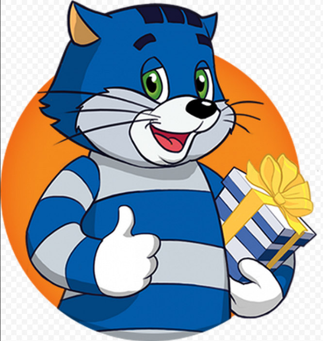 Писать открытку, открытка кот матроскин