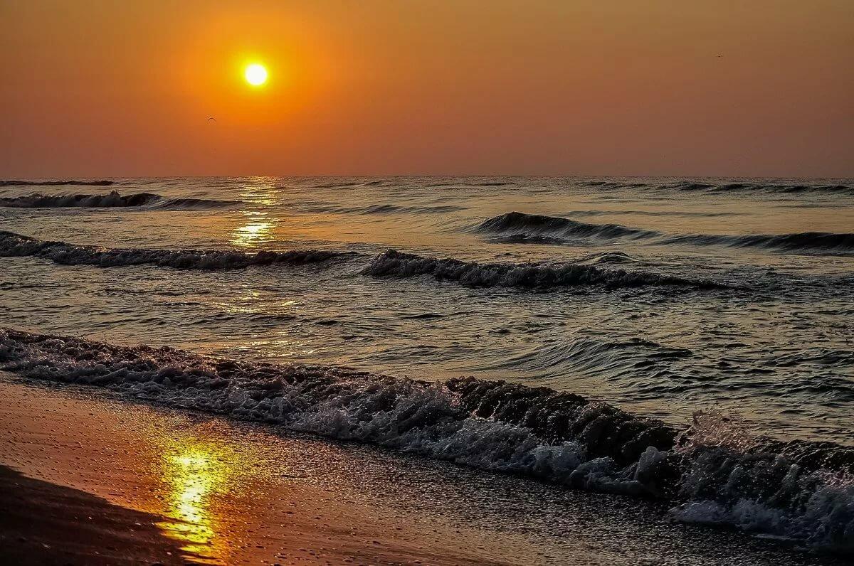 Пляж рассвет картинки