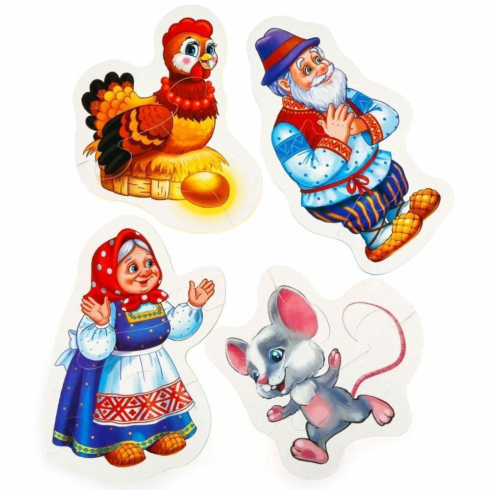 Герои сказок картинки для детей для театра