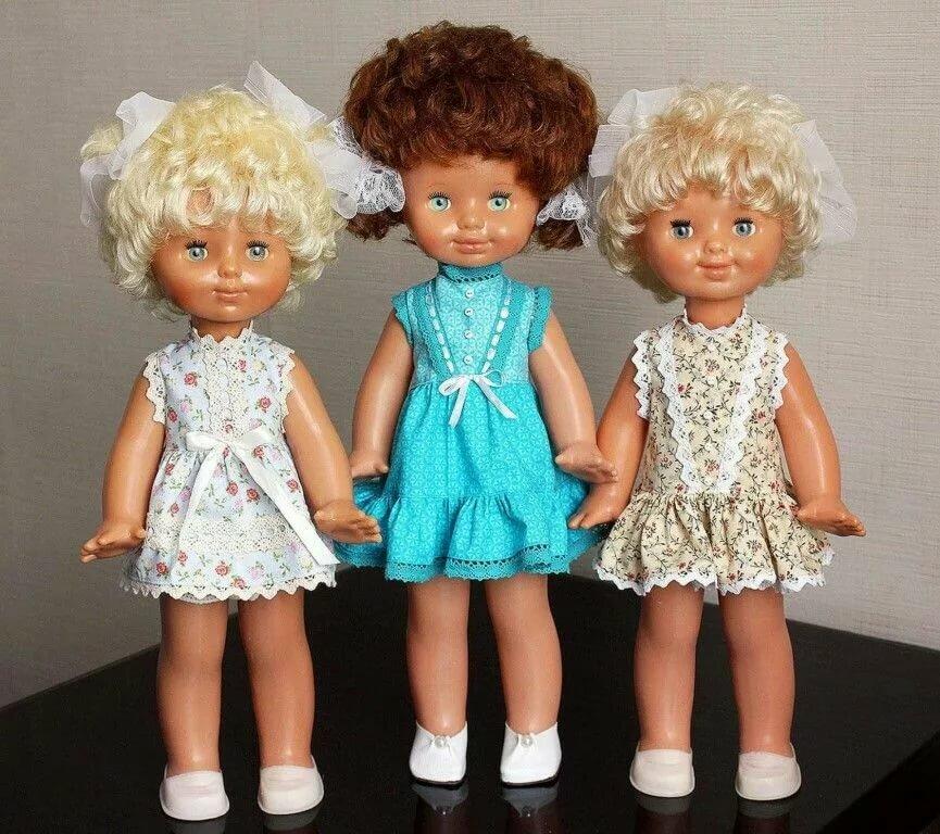 советские картинки с куклами которых изготавливаются