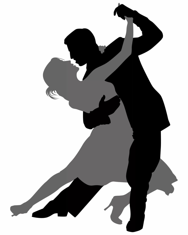 Открытки, танцующие пары картинки черно белые