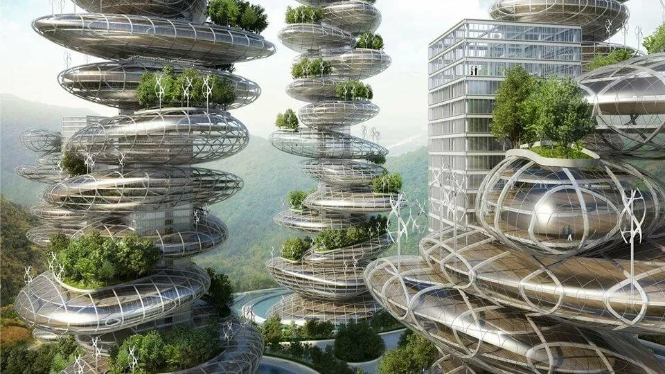 Картинка экология будущего