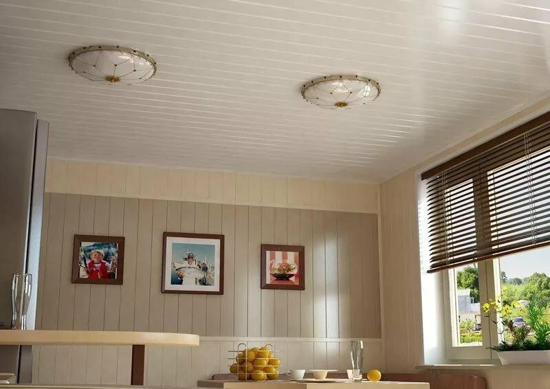 Картинки отделок кухни пластиковыми панелями фото