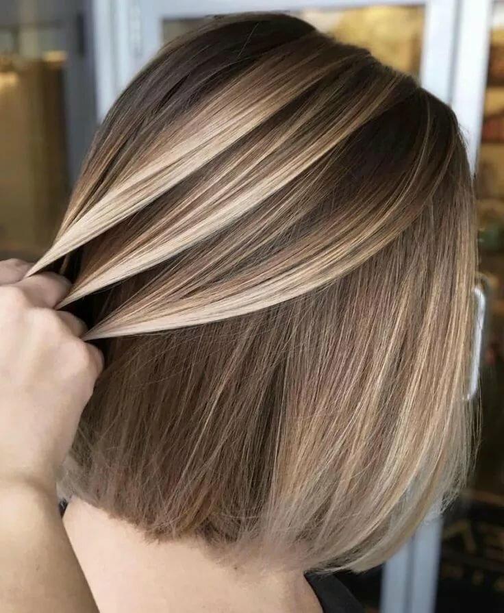 Окрашевание волос в картинках
