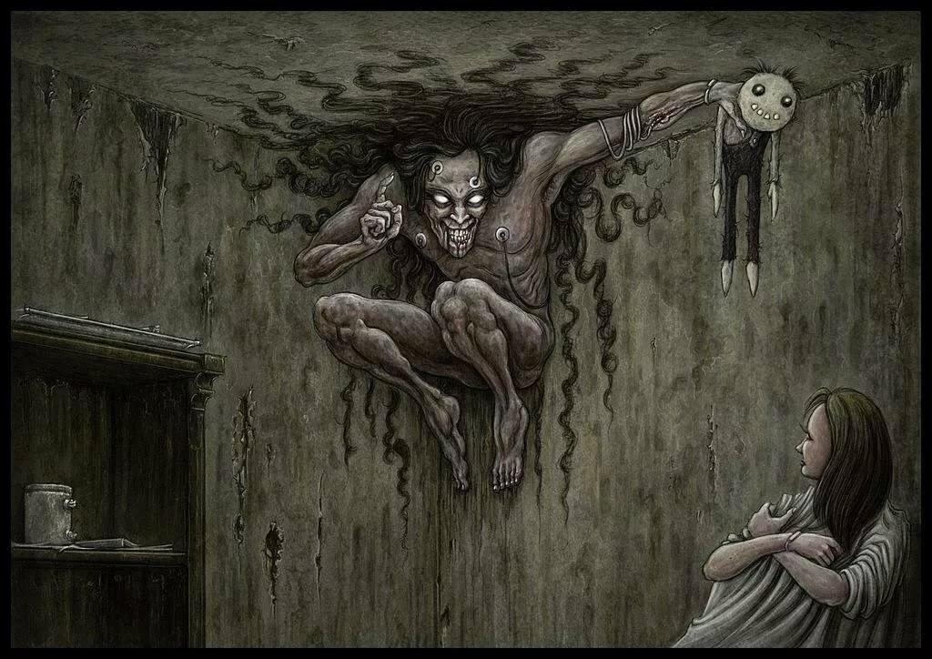 Картинки наводящие страх