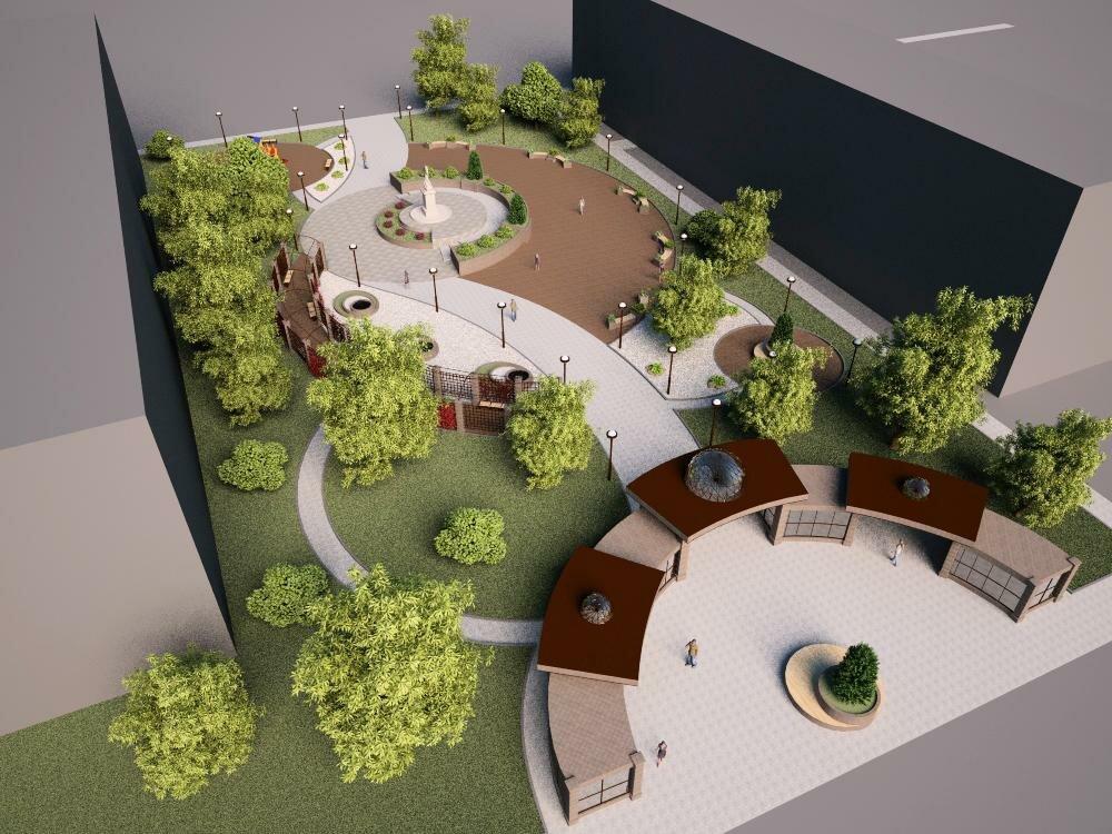 проектирование скверов и парков снип