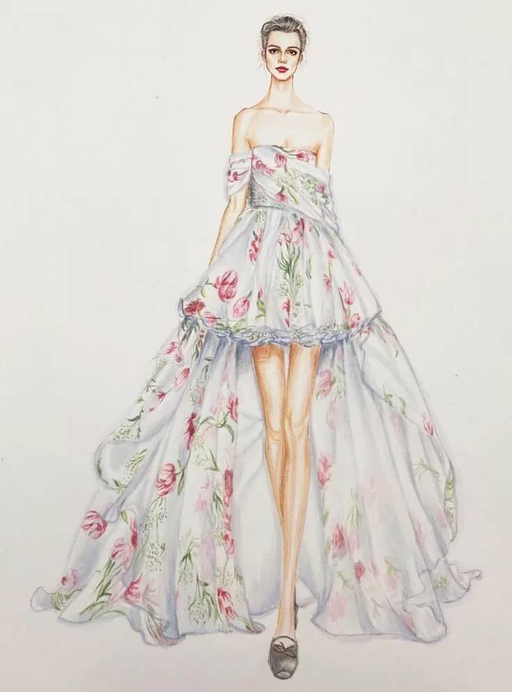 Девушки для моделирования платьев