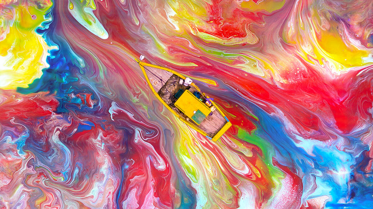 Картинки на рабочий стол взрывы красок