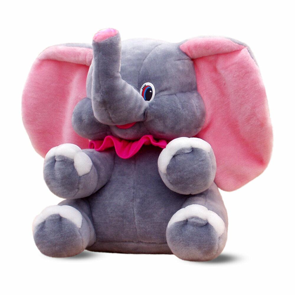 картинки плюшевых слоников человека