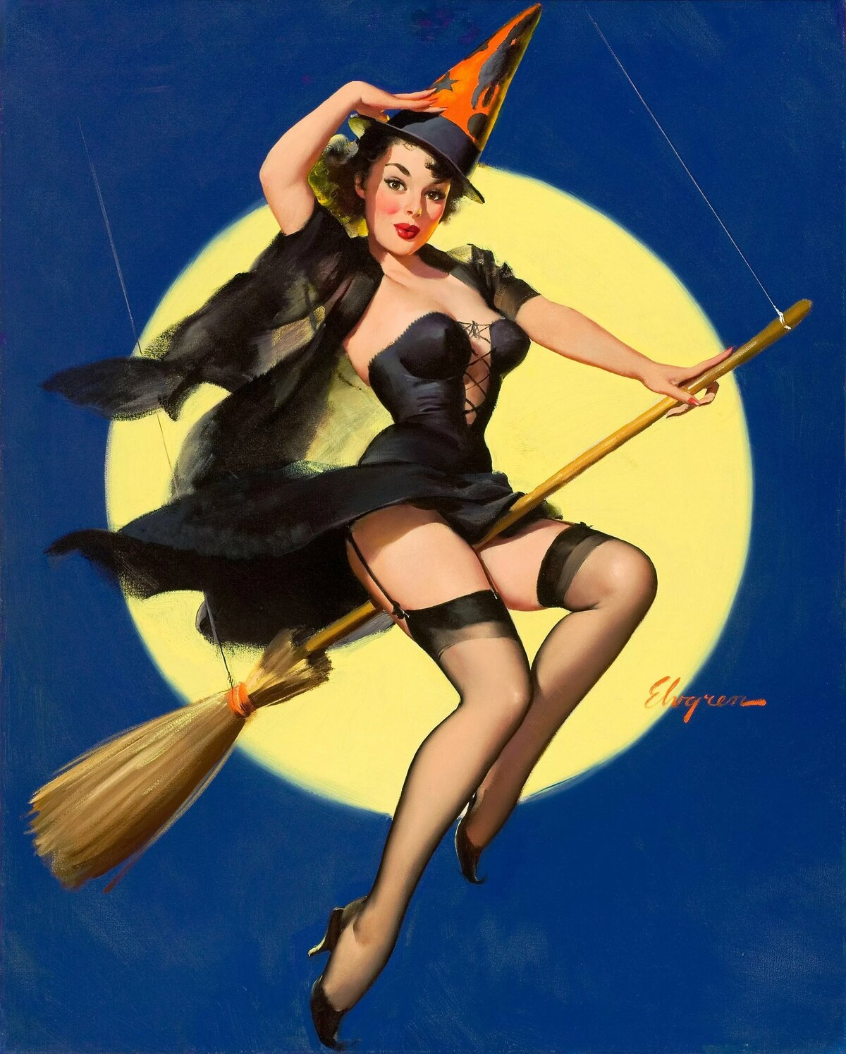halloween-pin-up-girl-vintage-pictures