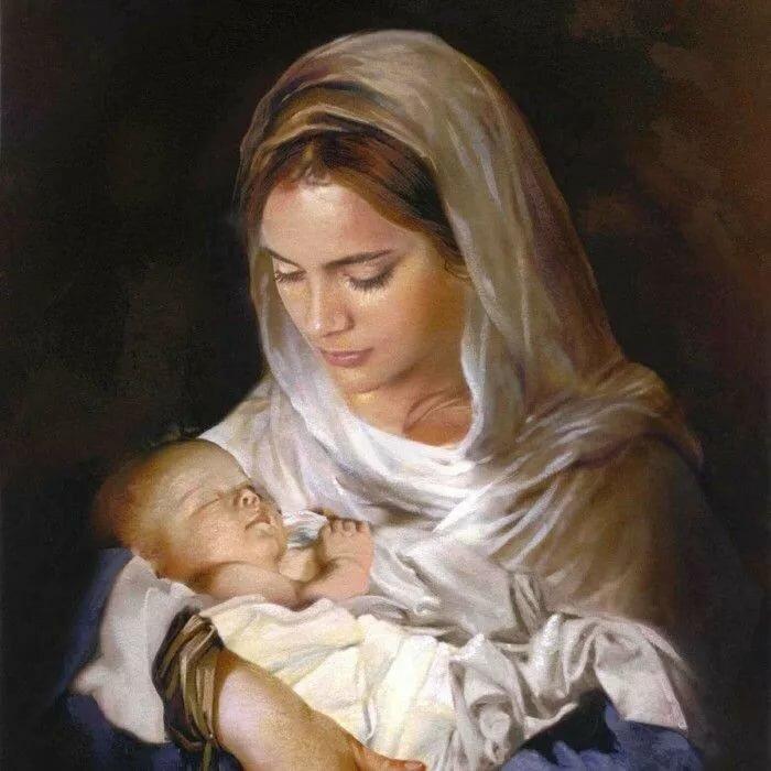 Картинки женщина с младенцем на руках, днем рождения другу
