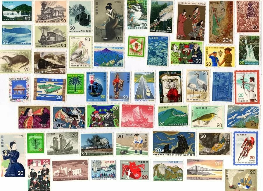 Как удалить марку с открытки, машкой надписями новые
