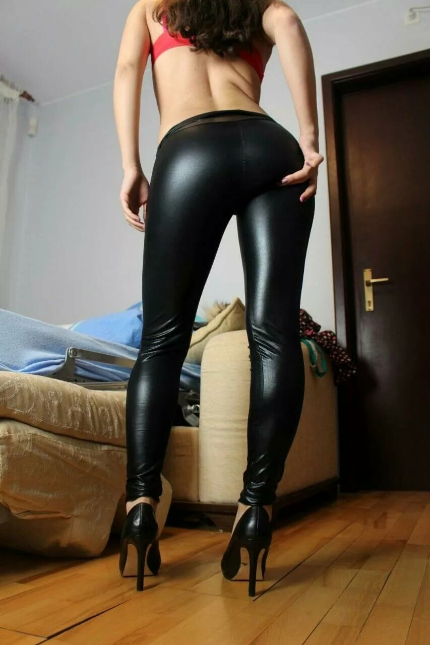 Wetting leather pants