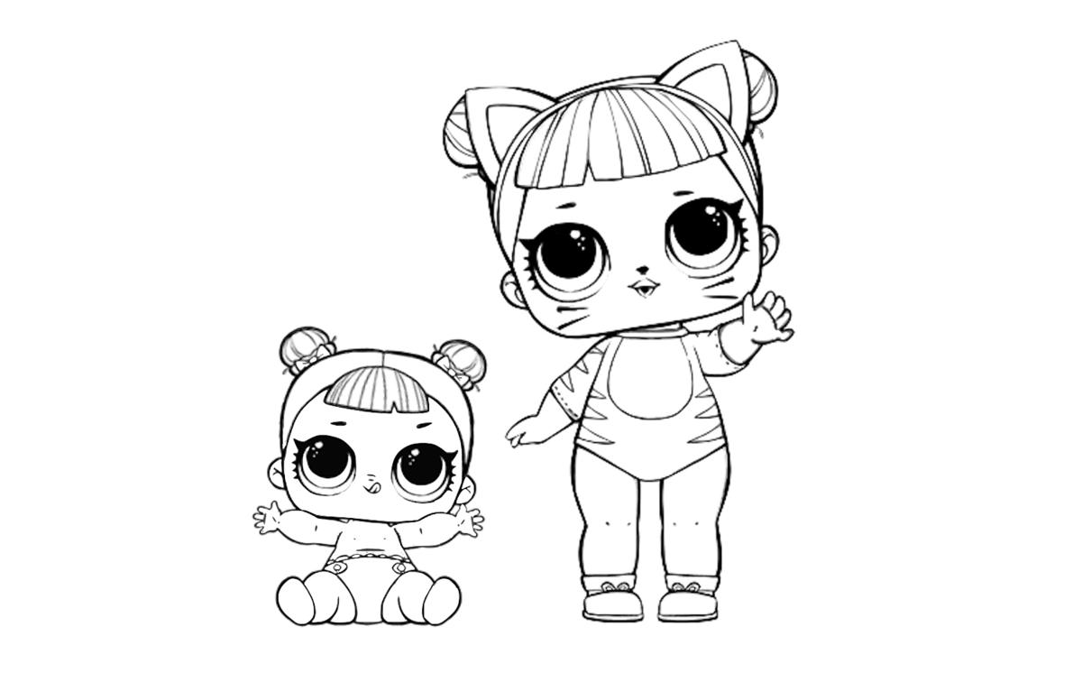 «Раскраски куклы Лол 4 серия, питомцы Лол Петс» — карточка ...