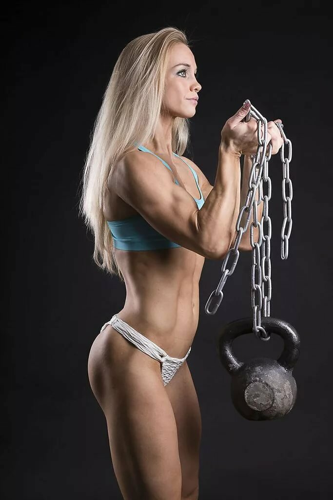 Hot nude female fitness models — 4