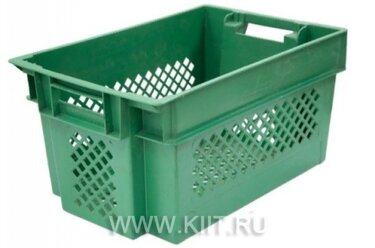 ящик пластиковый 600х400х200 перфорированный