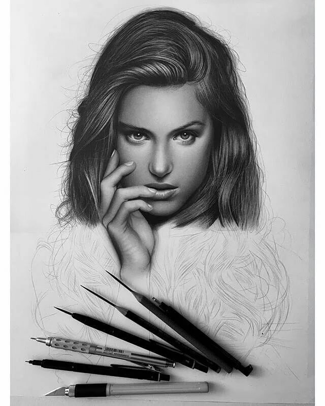 Идеальные картинки карандашом