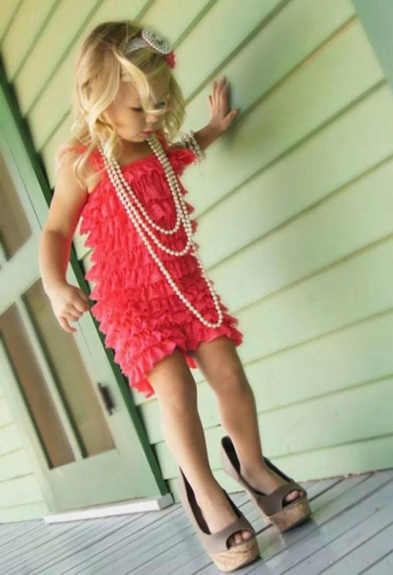 Девочка модница в картинках