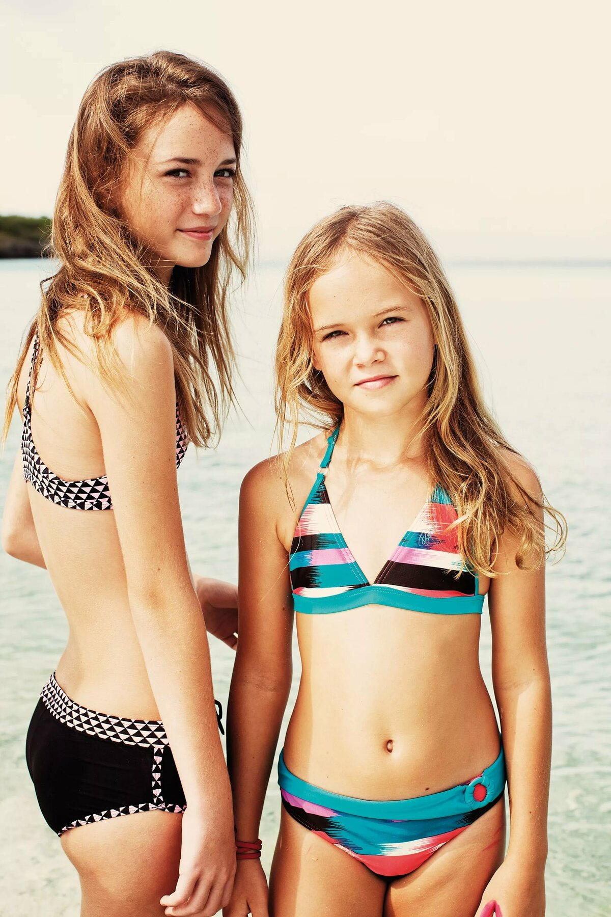 Tween bikini photography