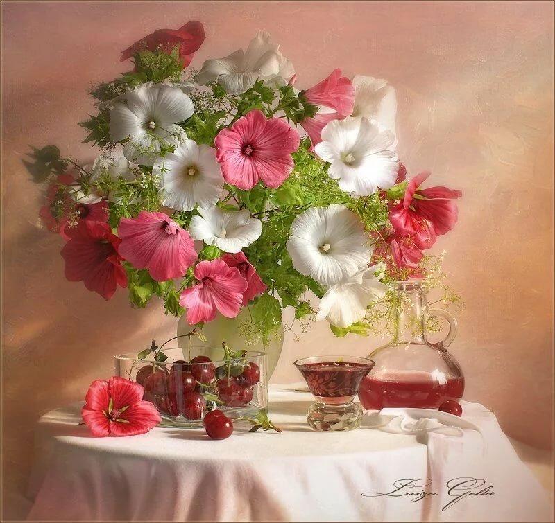 Картинки женщин, открытки цветы красивые с добрым днем