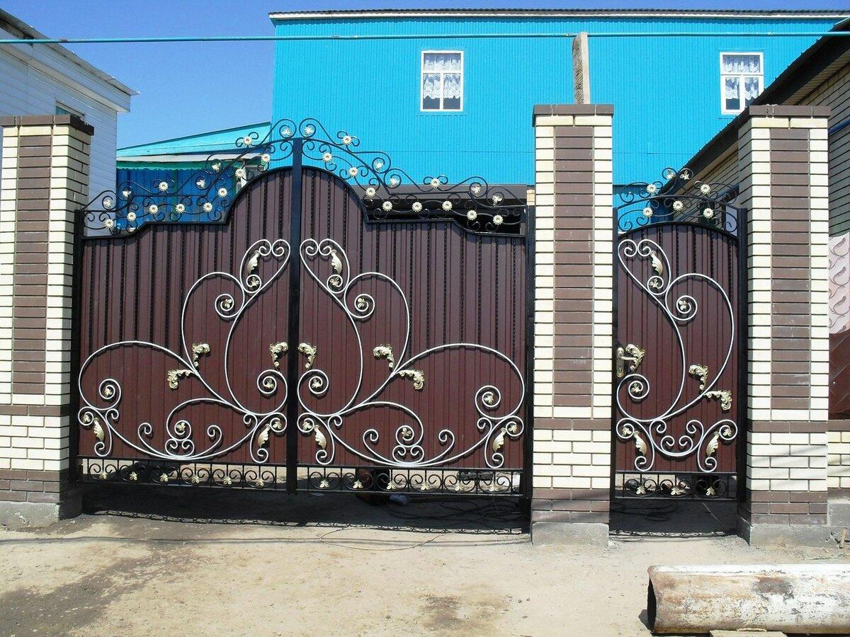 Картинки красивые ворота и калитки