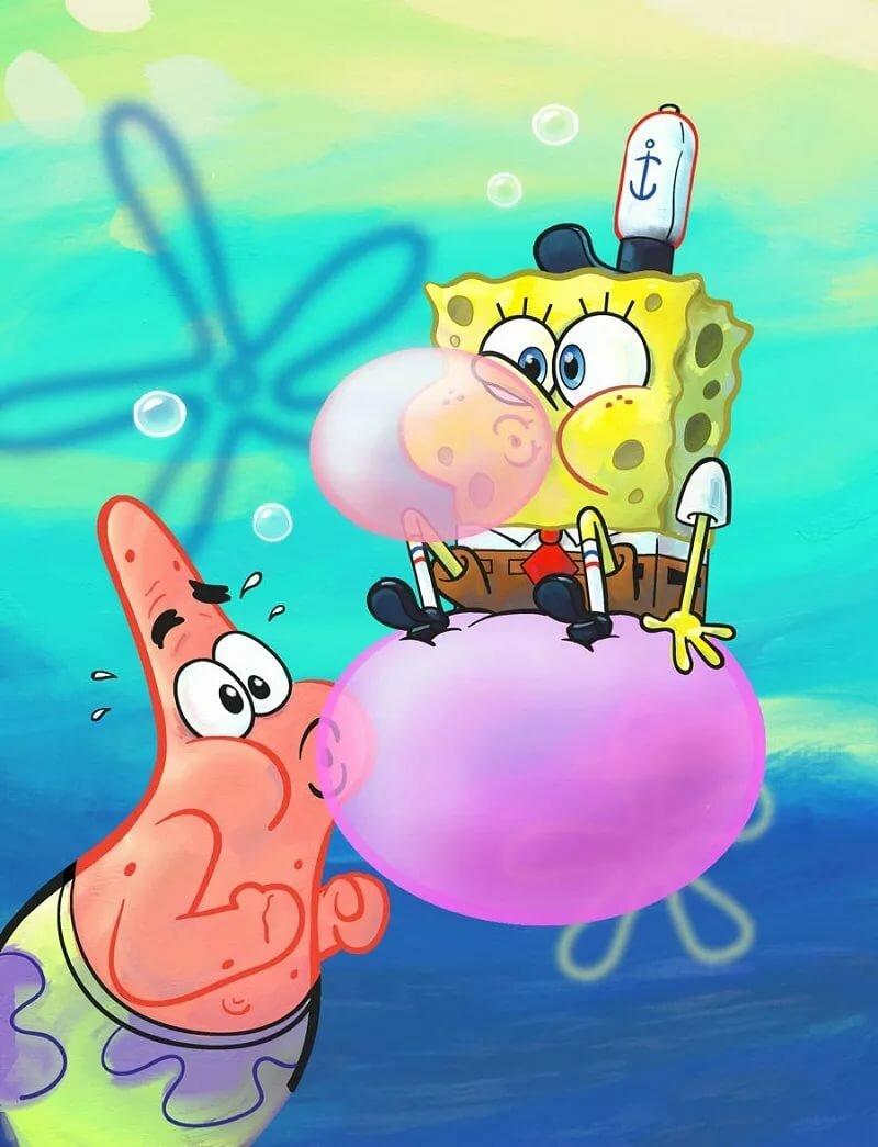 Патрик картинка спанч боб