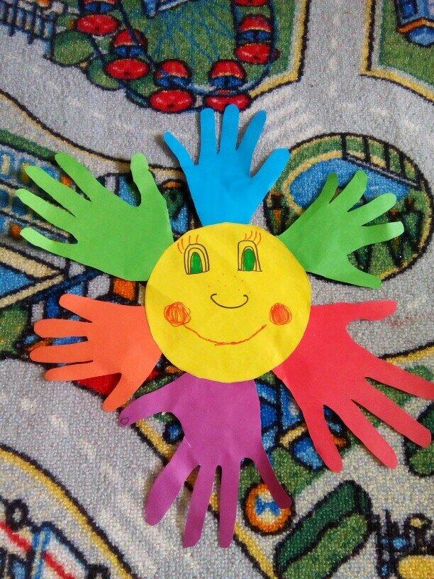 Открытка ко дню защиты детей своими руками