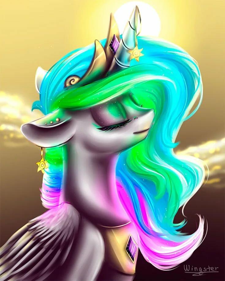 Картинка красивых пони
