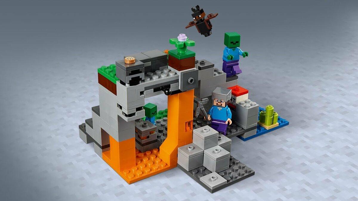 Картинка лего майнкрафт пещера зомби