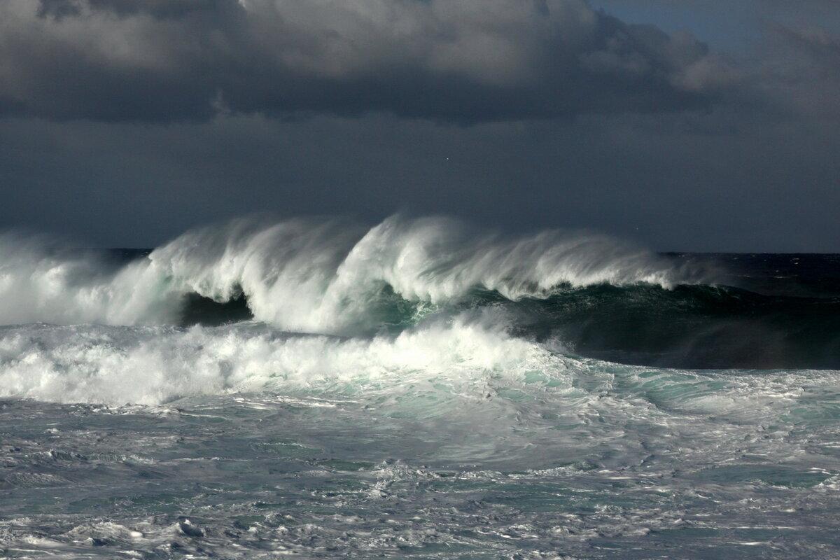 штормовое море фотографии кухня