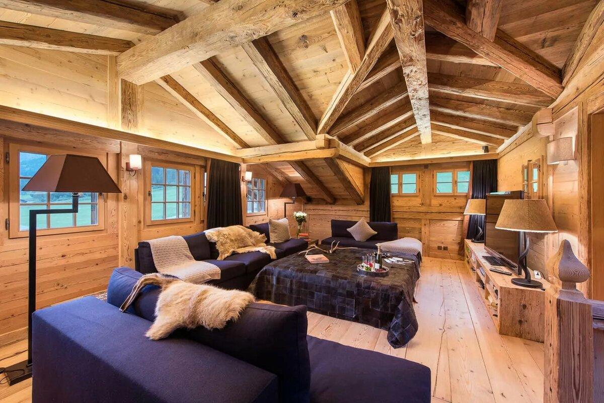 Фото в стиле шале внутри дома