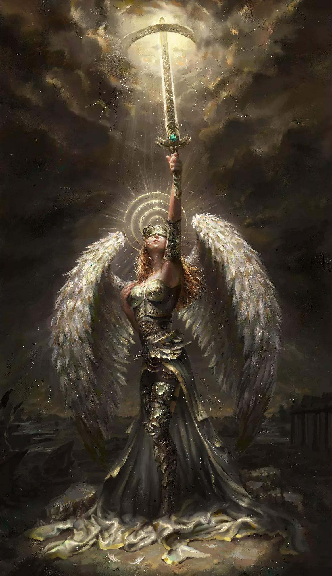Картинки анимации с архангелами