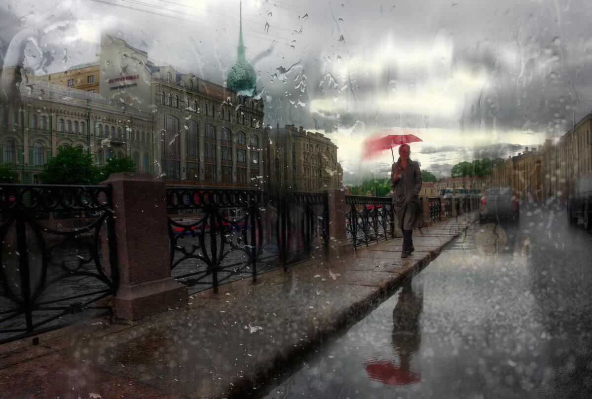 фото дождь за окном летом питер ней