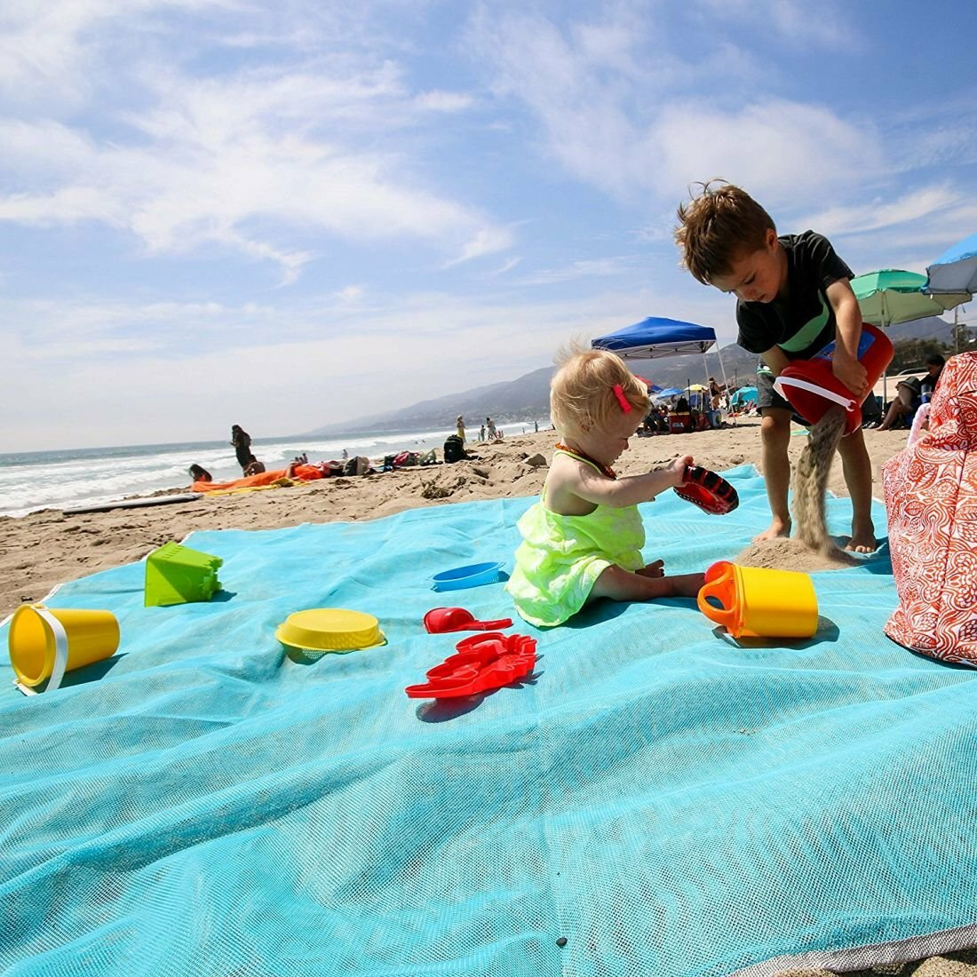 Пляжная подстилка ClapSand анти-песок в Благовещенске