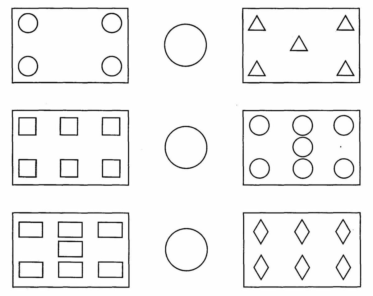 Картинки сравнение предметов для детей