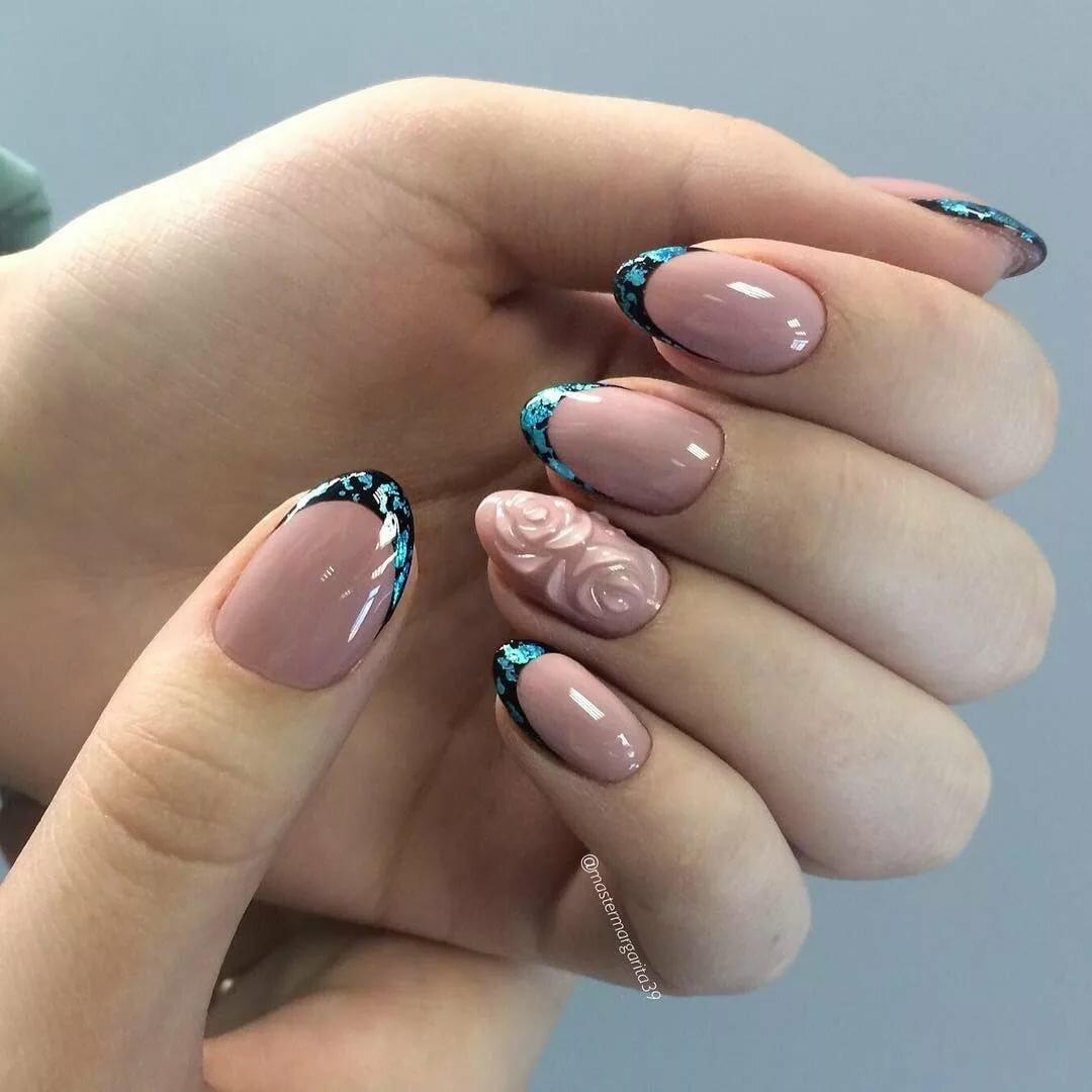 Дизайн на круглые ногти картинки