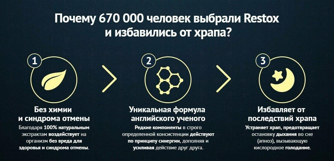 Restox от храпа в Барнауле