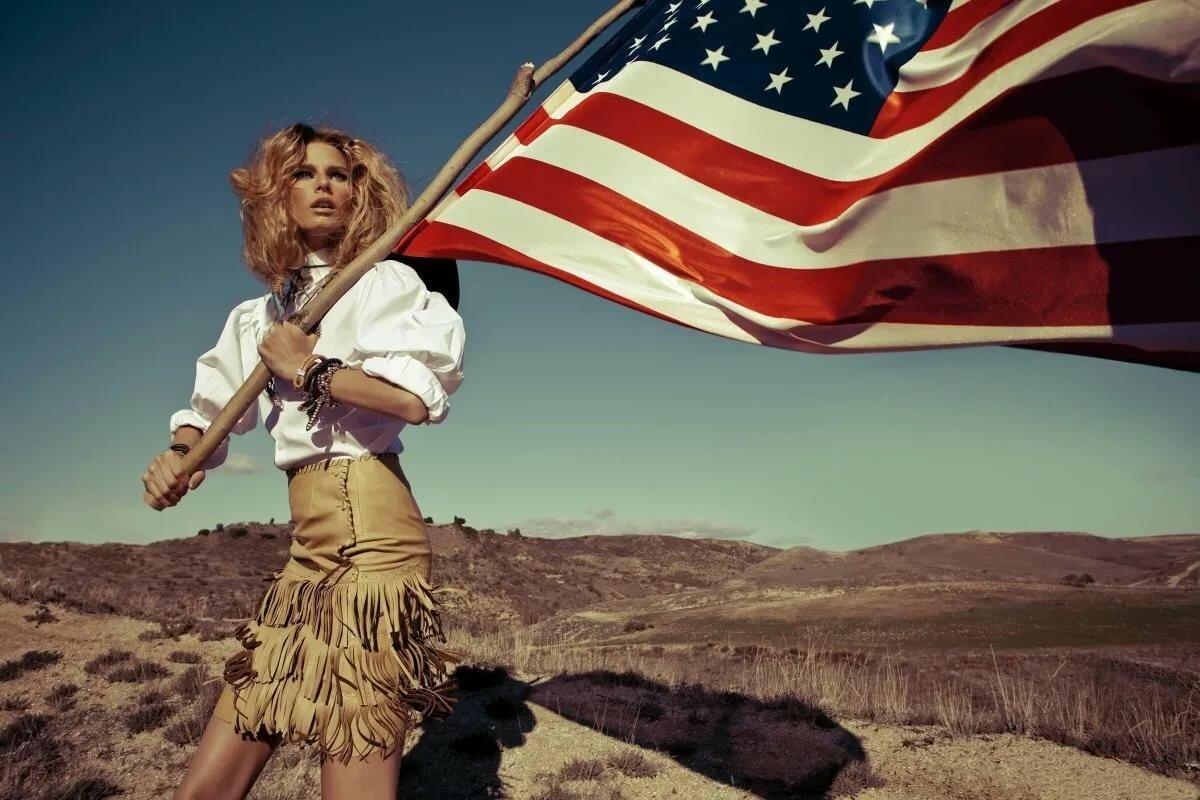 Картинки девушки из америк