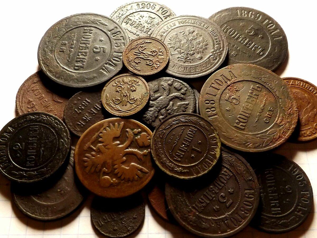 фото первых денег старинных монет связи
