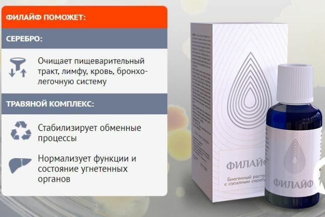Филайф для выведения шлаков и токсинов в Северодвинске