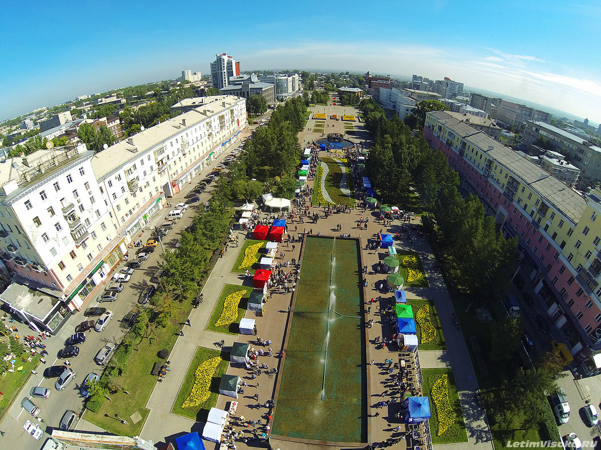 Барнаул фото города сегодня индейкой мультиварке