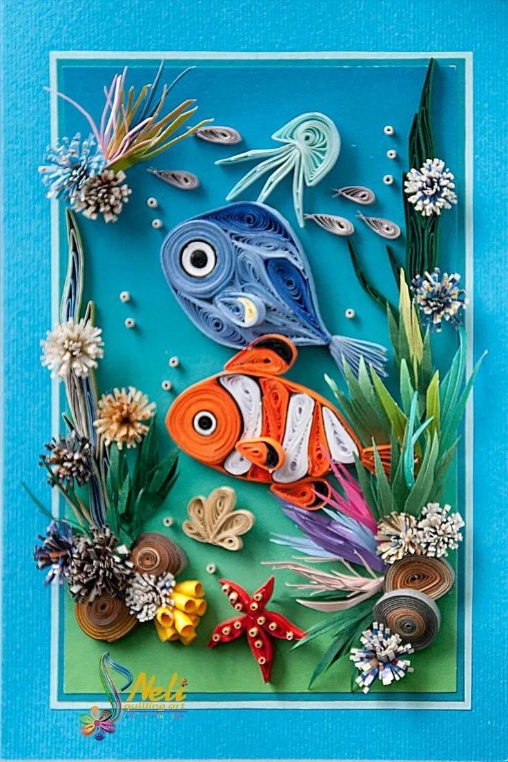 нюдовой открытка подводный мир своими руками первый брак