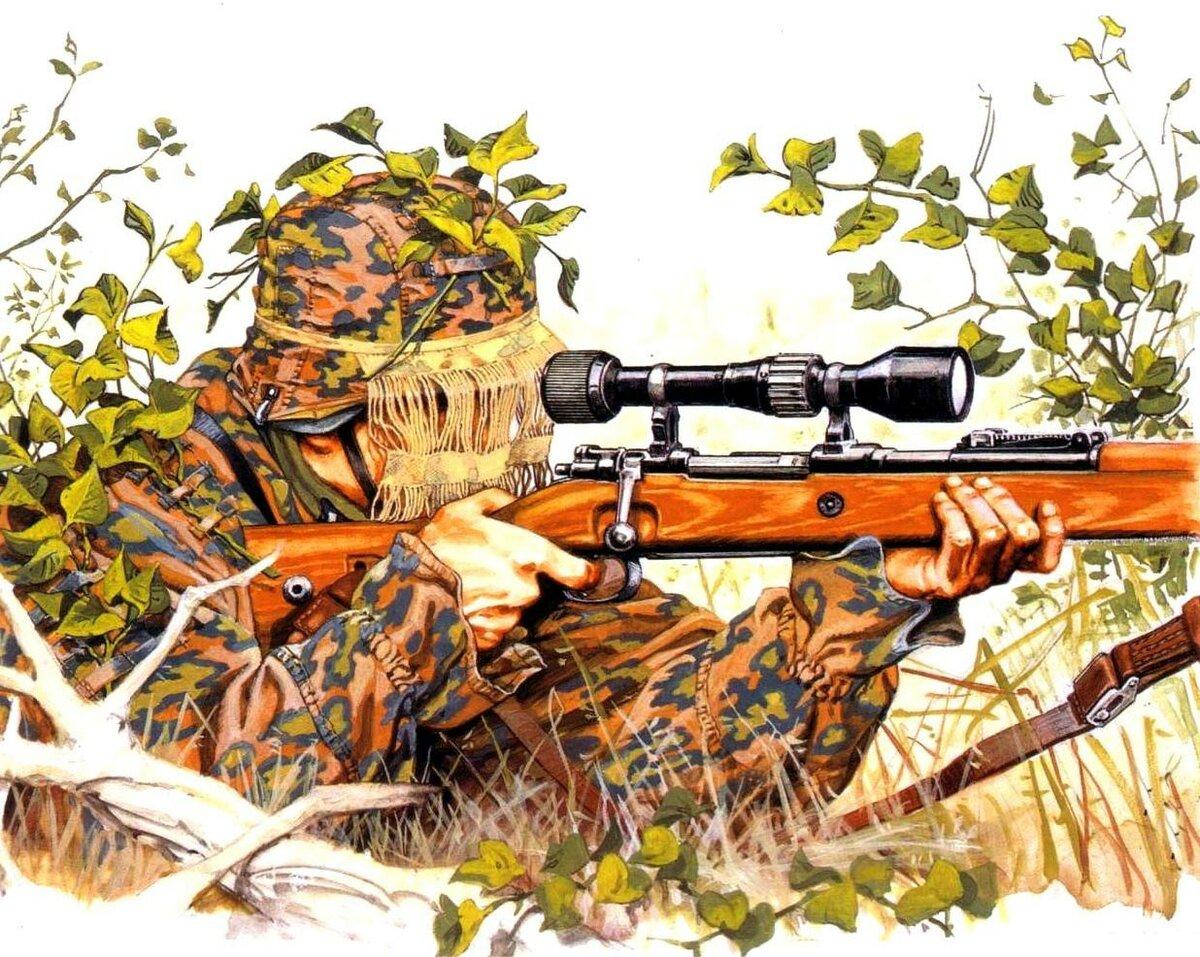 тренировался открытки снайпер всего